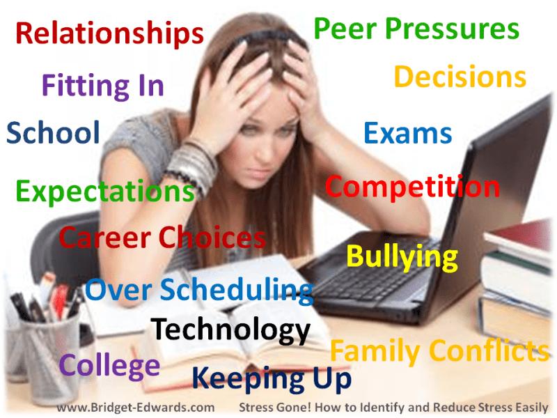 Tips to Reduce Teenage Stress