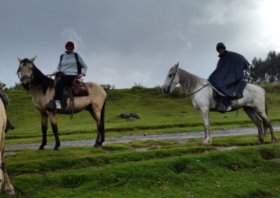 Horse riding in Cusco, Peru